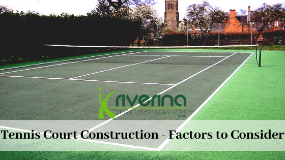 Tennis Court Construction Albury