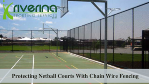 Netball Courts Chain Wire Fencing