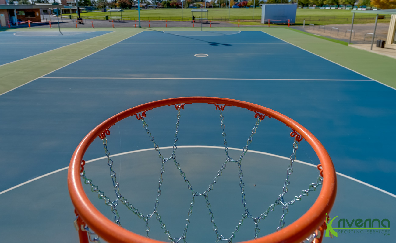 Netball Court Installation Services - Riverina Sporting Services