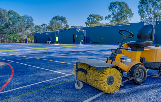 Maintenance at Riverina Sporting Services