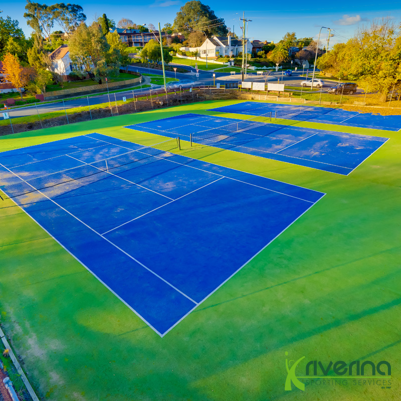Tennis Court Builders Albury - Riverina Sporting Services