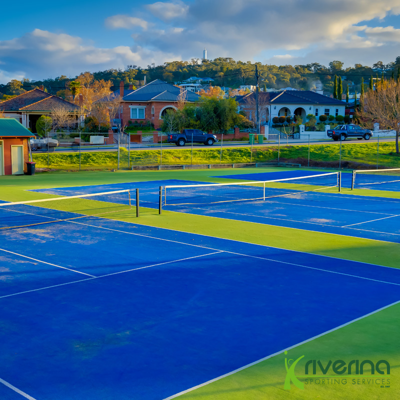 Tennis Court Installation - Riverina Sporting Services
