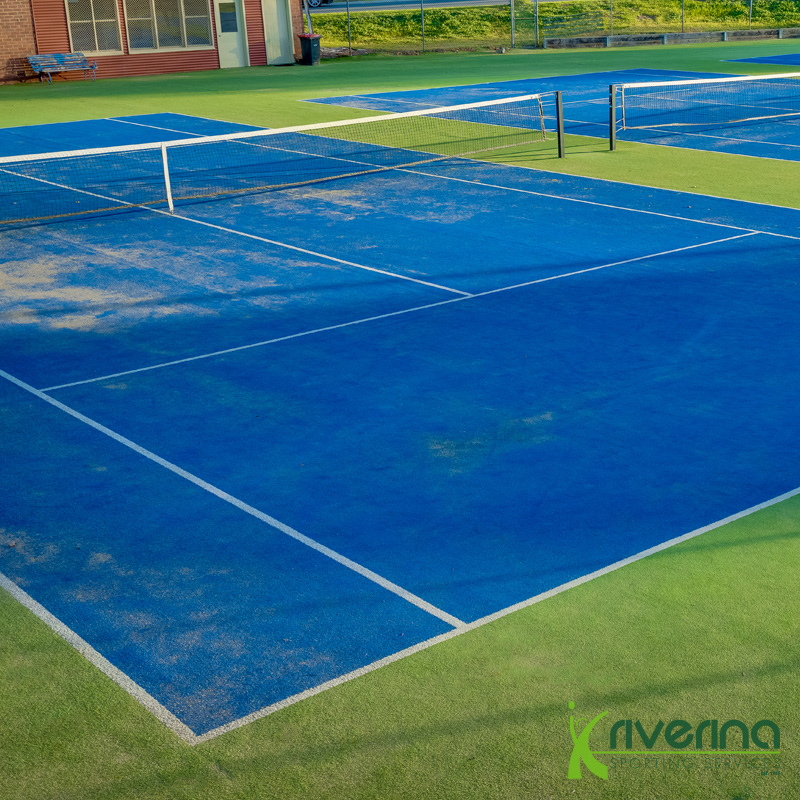 Tennis Court Construction - Riverina Sporting Services