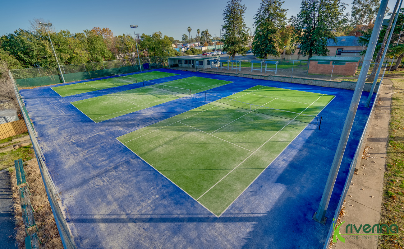 Tennis Court Builders Junee - Riverina Sporting Services