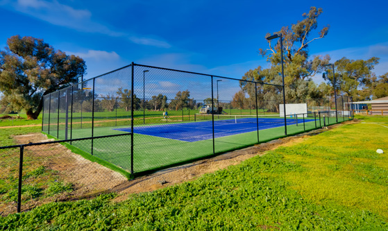 Private Tennis Court Riverina Sports Project