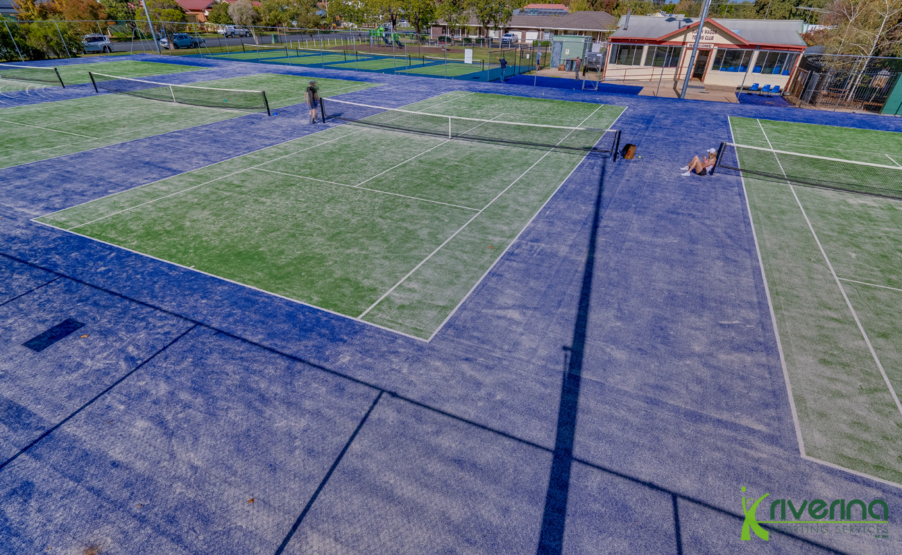 South Wagga Tennis Courts/Club - Riverina Sports Project