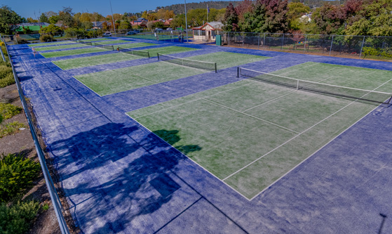 South Wagga Tennis Courts/Club Riverina Sports Project