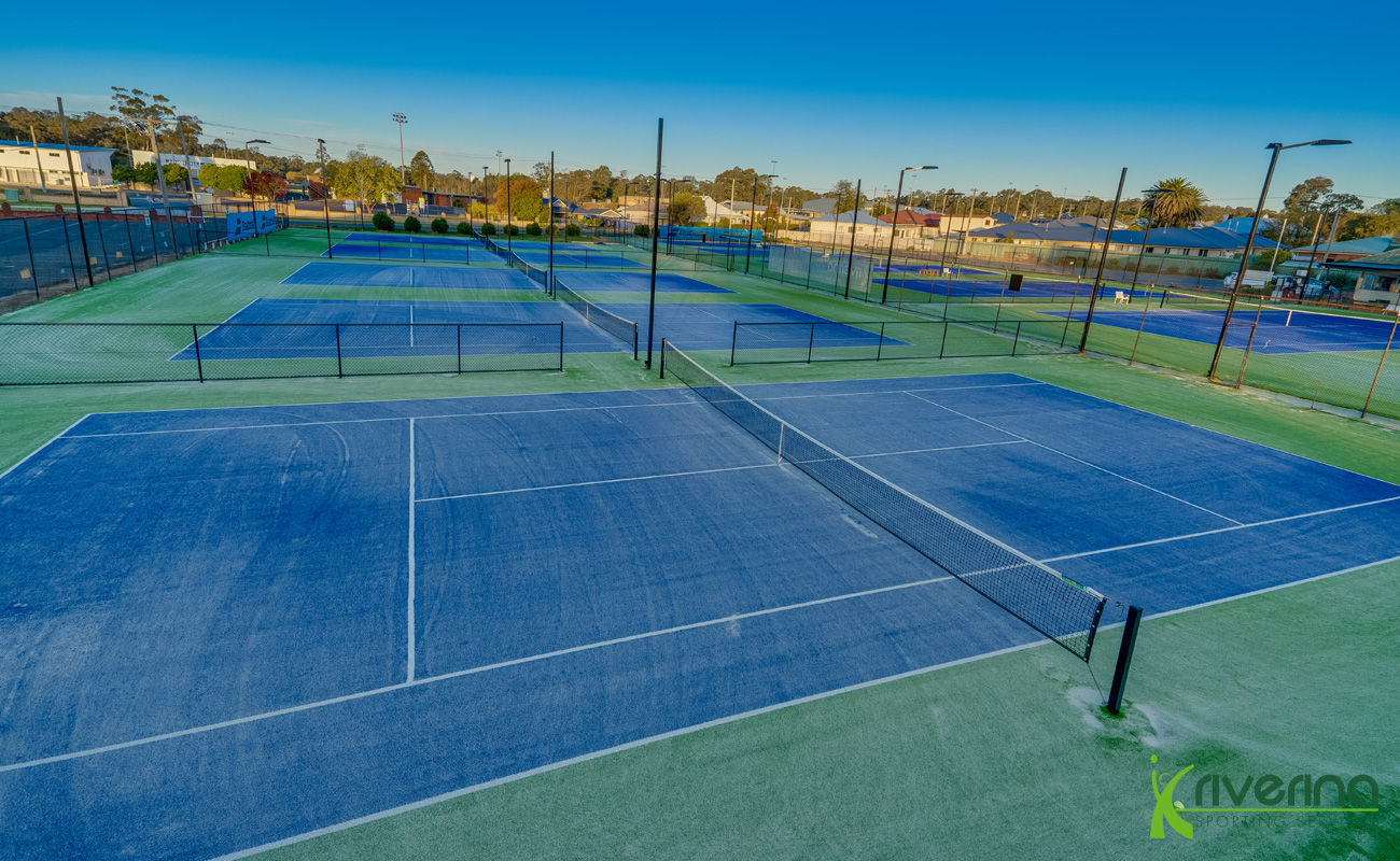 Tennis Court Builders Young - Riverina Sporting Services